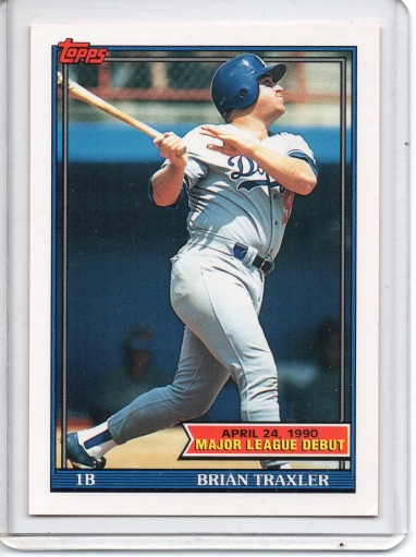 Brian's Topps Rookie Card, 1991 Topps # 155