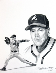 Future Hall of Fame Tom Glavine was the ace of the 1991 Braves